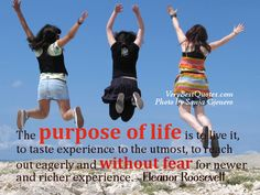 The purpose of life quote by Eleanor Roosevelt - Love to help people to have better lives - Are you ready to have the life of your dreams?  www.apppayzu.com #shopping sherlock #online home business #network marketing