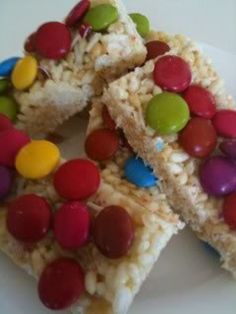 LTM's (Little thermomix munchies) minus the colour laden smarties ;o)