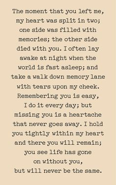 The Moment You Left Me Print Canvas or Wood Sign Sympathy Gift Memorial Gift Bereavement Gift Cowoker Gift Dad Quotes, Mother Quotes, True Quotes, Advice Quotes, Missing You Quotes For Him, You Left Me Quotes, Grief Poems, Dad Poems, Collateral Beauty