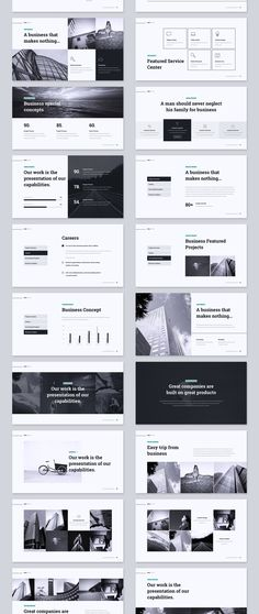KOPA Business Template — Presentation on design