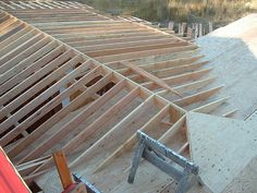 Over Framing A Cross Gable Roof To A Open Great Room (cathedral) - Framing - Contractor Talk Gable Roof Design, Roof Sheathing, Porch Addition, Porch Roof, Roof Lines, Room Additions, Roof Repair, Home Design Plans, Great Rooms
