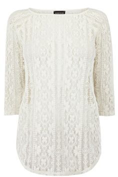 WESTERN LACE TOP
