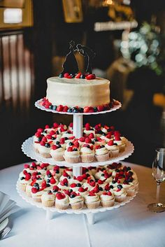 Totally Unique Wedding Cupcake Ideas ❤ See more: http://www.weddingforward.com/unique-wedding-cupcake-ideas/ #weddings