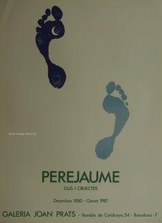 Perejaume - Original Artist Poster 1981 by ARTANDVINTSTORE on Etsy Art Vintage, Vintage Posters, Museum Poster, Creative Poster Design, Poster Design Inspiration, Exhibition Poster, Fine Art Prints, Poster Prints, The Originals