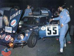 Michele Mouton, 1975 Tour De Corse - Alpine A110 1800 (7th)