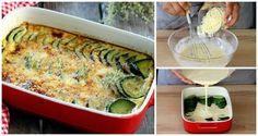 Come preparare il gratin di zucchine