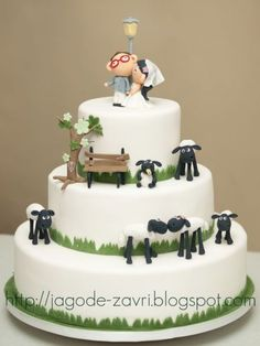 It's Shaun the Sheep, it's Shaun the Sheep, he even mucks about with those who do not bleat...