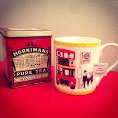 English Breakfast tea. Tea time !