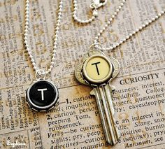 The Beading Gem's Journal: Recycle Old Typewriter Keys into Jewelry!