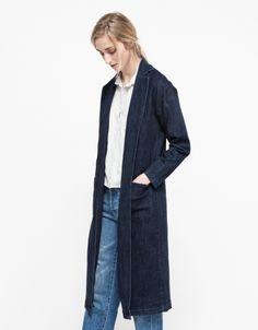 Long denim coat #NEED