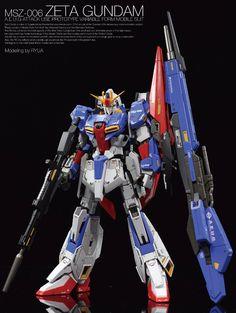 GUNDAM GUY: MG 1/100 Zeta Gundam - Customized Build
