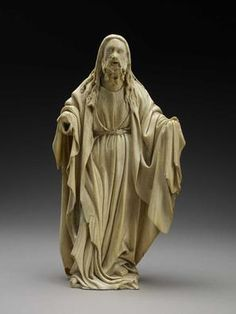 FRANCO-NETHERLANDISH   God the Father   Early 15th century   Ivory   9 3/4 x 5 1/8 x 3 inches       The Museum of Fine Arts, Houston