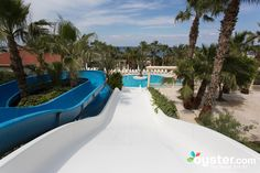 The Aqua Slides Swimming Pool at the Oscar Resort Hotel