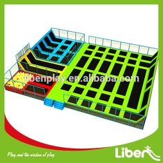 Large Adult Indoor Trampoline With Foam Pit And Dodge Ball Outdoor And Indoor…