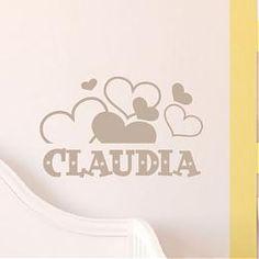 Vinilos / Infantiles / Vinilos con nombres - Tienda online de vinilos decorativos, stickers, wall art, decoración