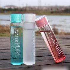 Details about Portable Cute Water Cup Glass Water Bottle Cup Travel Mug Outdoor Drinking Cup Portable Cute Water Cup Glass Water Bottle Cup Travel Mug Outdoor Drinking Cup - Fresh Drinks Drinking Water Bottle, Cute Water Bottles, Drinking Fountain, Reusable Water Bottles, Juice Bottles, Drink Bottles, Drinking Glass, Water Bottle Design, Glass Water Bottle