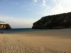 Just a few minutes from Torralbenc you can find Cala En Porter beach.