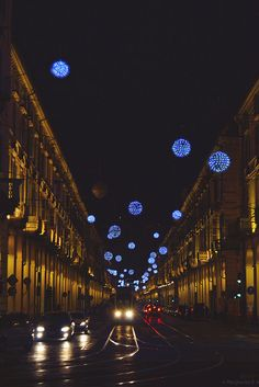 Torino, Luci d'Artista in via Po