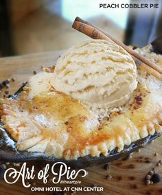 Peach Cobbler Pie fr