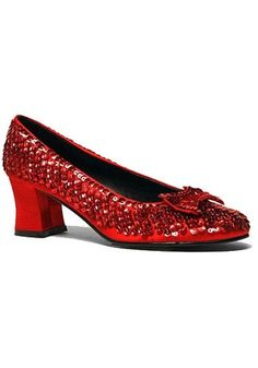 Adult Ruby Red Shoes - Wizard of Oz Dorothy Slippers