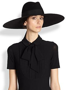 The hat of the year by Saint Laurent #hatitude