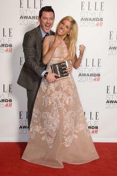 Ellie Goulding and Luke Evans