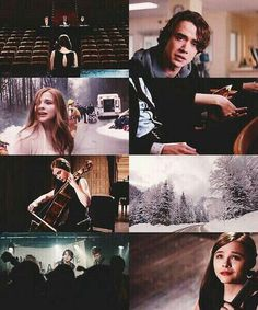 isn't it amazing how life is one thing, and then in an instant it becomes something else? like here I am: Mia, the girl who thinks about the cello and Adam, and just like that......