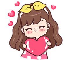 Cute Couple Drawings, Cute Couple Cartoon, Cute Cartoon Girl, Cute Love Cartoons, Cute Drawings, Cute Love Pictures, Cute Cartoon Pictures, Mode Poster, Cute Girl Drawing