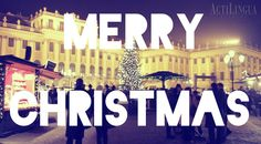 Merry Christmas from IALC school in Vienna, Austria:  ActiLingua | http://ialc.org/actilingua-vienna-austria | #learn #German #Austria #IALC #accredited #language #school #Actilingua