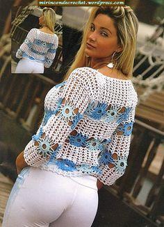 Captivating Crochet a Bodycon Dress Top Ideas. Dazzling Crochet a Bodycon Dress Top Ideas. T-shirt Au Crochet, Cardigan Au Crochet, Beau Crochet, Pull Crochet, Mode Crochet, Black Crochet Dress, Crochet Shirt, Crochet Jacket, Crochet Woman