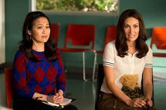 Lauren and Yolanda #GoOn #LauraBenanti #SuzyNakamura