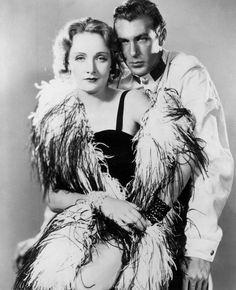 https://flic.kr/p/9eZQZq | Gary Cooper, Marlene Dietrich, Morocco 1930