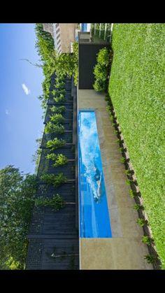 Small Swimming Pools, Small Pools, Swimming Pools Backyard, Swimming Pool Designs, Pool Landscaping, Backyard Pool Designs, Small Backyard Pools, Above Ground Pool, In Ground Pools