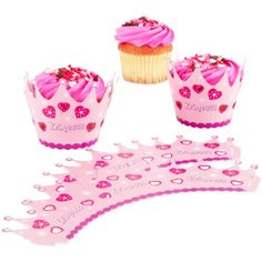 Princess Cupcake Wrappers 12 count >>> Continue to the product at the image link.