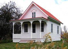 petite ferme-cottage américaine