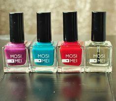 Mosi Mei non-toxic, 5 free, cruelty free nail polish.