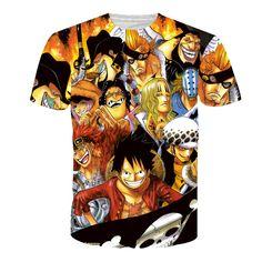 Cwlsp hombres naruto impresión 3d t shirt de dibujos animados anime dragon ball camiseta hogar clothing harajuku una sola pieza camisetas hombre qa998