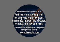 Photo L'arthrite rhumatoïde et les allergies alimentaires - drsuciu Les Allergies, Sans Gluten, Arthritis, Dairy, Food