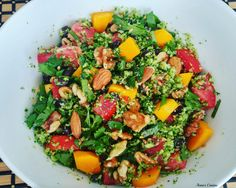 Broccoli Rice and Broccoli Rice Salad with Butternut Squash Broccoli Rice, Rice Salad, Side Recipes, Nutritious Meals, Butternut Squash, Cobb Salad, Salad Recipes, Shrimp, Squash Salad