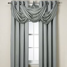 Buy Odyssey Insulating Waterfall Valance from Bed Bath & Beyond