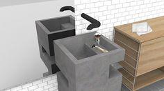 hide & sink (ha too corny?)