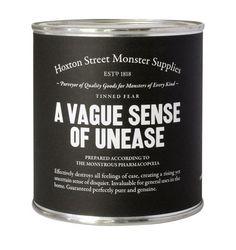 a vague sense of unease
