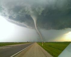 Tornado outdoors