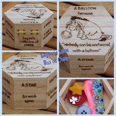 "Eeyore's Little Box of Cheer - ""nobody can be uncheered with a balloon"" #eeyore…"