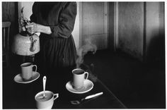 Larry Towell (Born 1953 Canadian) • Coffee at Reddekop's house. Zacatecas. La Batea. Mexico 1994