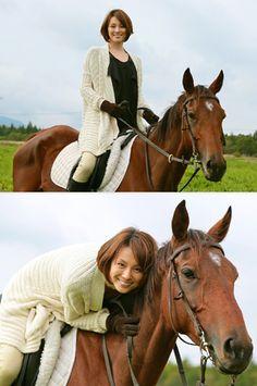 「7年後の東京オリンピック目指せるかな?」米倉涼子が自前の鞍で華麗なる乗馬姿を披露!『ドクターX~外科医・大門未知子』 | テレビ関連ニュース [テレビドガッチ]
