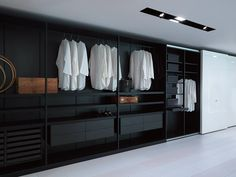 Armario vestidor STORAGE by Porro diseño Piero Lissoni, Centro Ricerche Porro