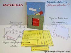 LAPICERO MÁGICO: Estrategia de Animación a la Lectura Dual Language, Spanish Classroom, Reading Activities, School Fun, Literature, Encouragement, Teacher, Colours, How To Plan