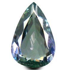 Tanzanite 4195: 1.25 Ct Aaa Tremendous Pear Shape (9 X 6 Mm) Bluish Violet Tanzanite Gemstone -> BUY IT NOW ONLY: $44.99 on eBay!