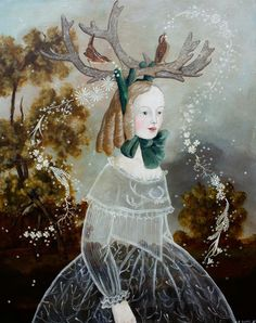 Painting by Anne Siems